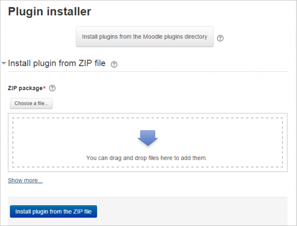 moodle-plugin-installer